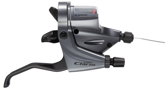 Shimano Claris ST-R240 - Commande de vitesse - 8-fold gris